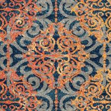 orange and turquoise rug 5 gallery navy blue and orange area rugs orange gray turquoise rug orange and turquoise rug