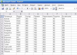 Реферат Створення та робота з таблицями у microsoft excel access  Створення та робота з таблицями у microsoft excel access