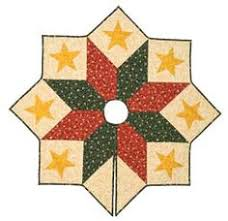 Jolly Santa Quilted Christmas Tree Skirt 54    Christmas Tree ... & quilted tree skirt kit 53