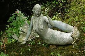 fairy garden mermaid statues mermaid