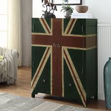 british flag furniture. British Flag Wine Cabinet Furniture