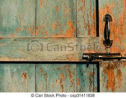 old door lock and latch csp31411838
