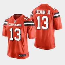 Orange Jr 13 - Men's Game Beckham Cleveland Browns Jersey Odell