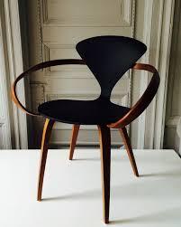 cherner furniture. Form- Black \u0026 Wood Cherner Armchair. The Way That Armrests Wind Around Give Furniture