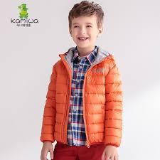 kamiwa 2017 baby boys winter coats lightweight design white duck down parkas jackets brand hooded children clothes kids clothing myfashion