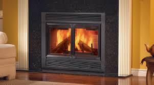 wood burning fireplace doors espan