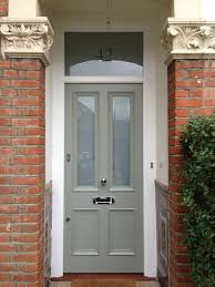 A Lovely Victorian  Panel Front Door In Farrow  Ball Pigeon No - Farrow and ball exterior colours