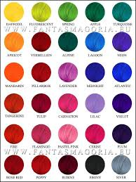 Stargazer Color Chart Coloring Hair Balsam Plum Hair Dyes Sparks Hair Color