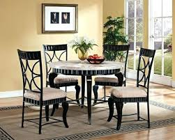 round marble kitchen table sets best dining room tables set faux top image 1 5 brown