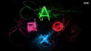 video games images neon playstation hd wallpaper and background photos