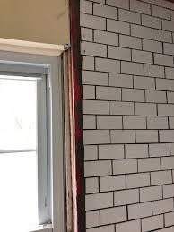 help uneven walls tile shower