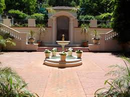 the spanish courtyard