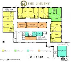 Location  Integrated Care CommunitiesAssisted Living Floor Plan