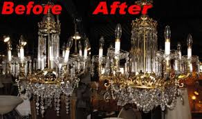 crystal chandelier repair