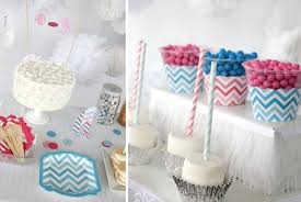 blue and gray baby shower pink and blue chevron party supplies gender reveal party ideas navy blue and gray baby shower decorations