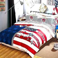 baseball bed sheets set twin ding s