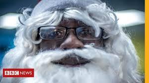 The secret history of black Santas - BBC News