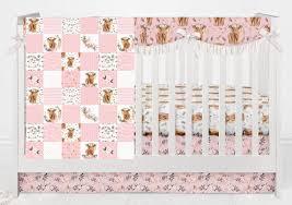 baby bedding fl cow crib bedding