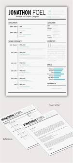 Resume Designs New Template 190 Best Resume Design Layouts Images