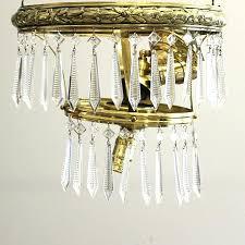 pottery barn teardrop chandelier vintage brass and crystal teardrop chandelier chandeliers for dining room home depot