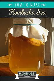how to make kombucha tea recipe