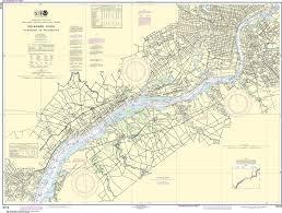 Delaware River Tide Chart Noaa Nautical Chart 12312 Delaware River Wilmington To Philadelphia