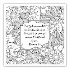 Small Picture Free Christian Coloring Pages for Adults Roundup Scriptures