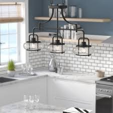 Lighting kitchen pendants Island Pendant Braxton 3light Kitchen Island Pendant Wayfair Kitchen Island Lighting Youll Love Wayfair