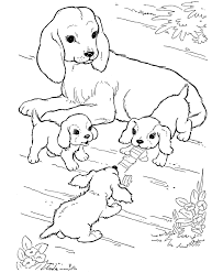 On august 11, 2019september 7, 2019 by coloring.rocks! Dog Color Pages Printable Dog Coloring Pages Mother Dog Watching Her Puppies Play Col Puppy Coloring Pages Farm Animal Coloring Pages Family Coloring Pages