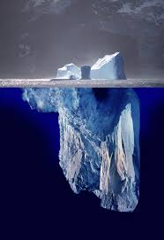 hemingway iceberg principle the old man the iceberg theory and the  the king of elfland s second cousin an iceberg in profile