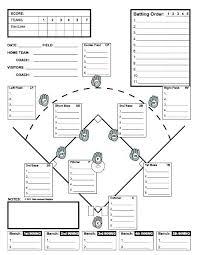 Baseball Field Template Printable Image Titled Set Up A Baseball Diamond Step 5 Lineup