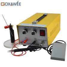 goxawee 220v spot welders electronic sparkle welder jewelry laser welder handheld mini laser spot welding machine