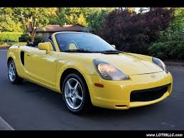 2002 Toyota MR2 Spyder Convertible Spyder Leather for sale in ...