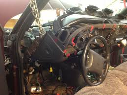 98 '02 dodge ram dash installation geno's garage  at Wire Harness Removal From A Dodge Ram Transmission Block