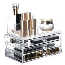 clear acrylic makeup organizer new clear acrylic makeup organizer storage drawer box lipstick holder makeup brush