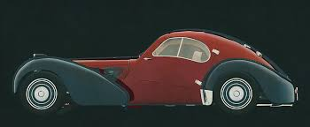 Pope cherished his atlantic and owned it for nearly three decades. Bugatti 57 Sc Atlantic 1938 Side View Painting By Jan Keteleer