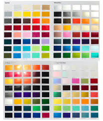 Car Paint Colors Chart Custom Car Paint Colors Selector Urechem Color Chart Buy