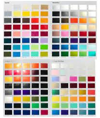 Automotive Paint Color Chart Custom Car Paint Colors Selector Urechem Color Chart Buy