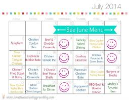 Monthly Dinner Planner Monthly Meal Planning 41 Printable Recipe Cards Monthly