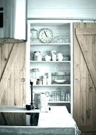 barn door pantry kitchen doors sliding for surprising on barn door pantry dreamy deadwood style upgrade sliding kitchen