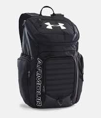 under armour bag. black , zoomed image under armour bag