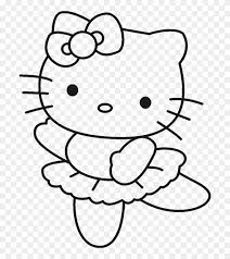 60 hello kitty pictures to print and color. These Drawing Hello Kitty Coloring Pages For Free Drawing Hello Kitty Ballerina Coloring Pages Clipart 505204 Pikpng