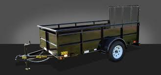 single axle trailers big tex trailers 30sv 35sv single axle vanguard