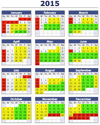 Annual Calendar 2015 Want To Know The Best Days And Times To Post Youtube Videos