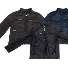 urban republic boys perforated nappa lamb faux leather jackets multiple options available free returns