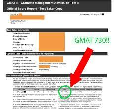 Gmat Scores Gmat Scoring On Your Report The Gmat Pill
