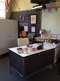 ideas for sprucing up my desk area contact paper on top butcher paper and