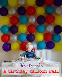 how to make x inspirational balloon wall decoration