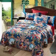 queen size boho bed set duvet cover bed sheet previous