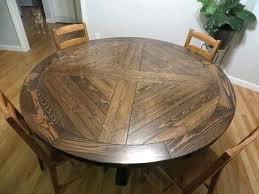 diy round dining table x base round pedestal dining table diy dining table plans